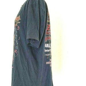 Vintage Shirts - 2010 OZZFEST Concert T Shirt XL